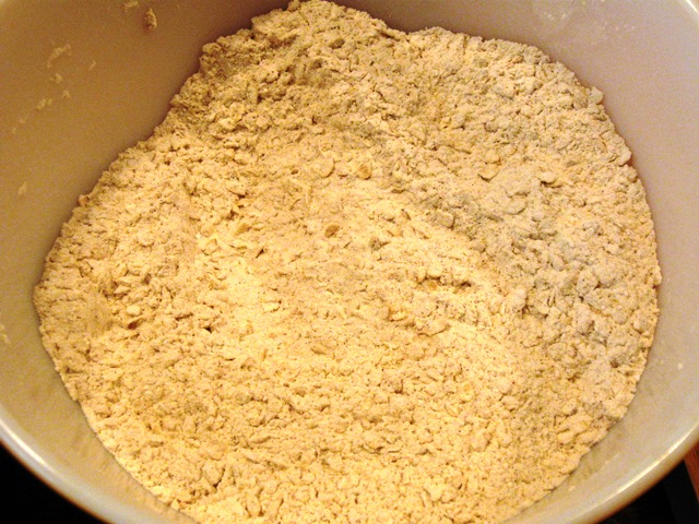 Flour and Oats Mixture