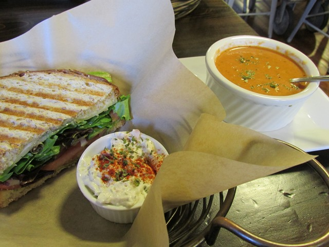 Sandwich, Salad, and Soup
